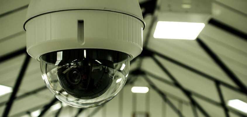 Установка видеонаблюдения в офис