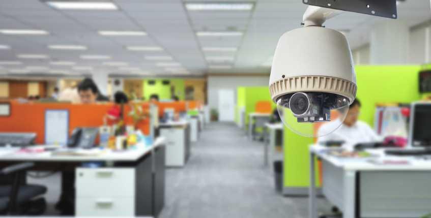 установка видеонаблюдения для офиса истра