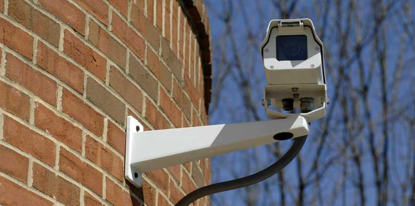 Установка видеонаблюдения на загородный дом