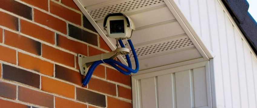 установка видеонаблюдения на даче в Истринском районе